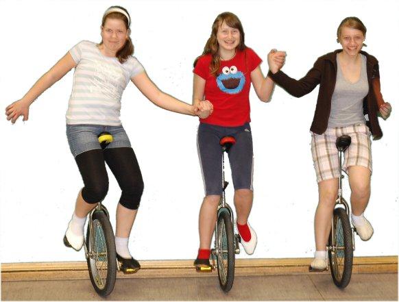 Einradfahren beim RSV FLOTTWEG