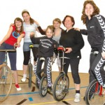 Kunstrad- und Einradfahren